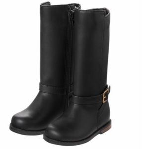 Gymboree black riding boot 9